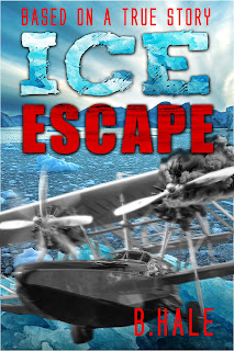 """Ice Escape"" by Beatrice Hale, cover designer Kura Carpenter"