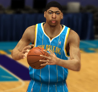 NBA 2K13 Anthony Davis Cyber Face Patch Update