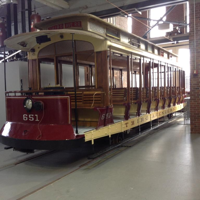 Electric City Trolley Museum In Scranton Pa Home: Preserved Traction: Third Avenue Open Car 651