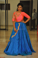 Nithya Shetty in Orange Choli at Kalamandir Foundation 7th anniversary Celebrations ~  Actress Galleries 127.JPG