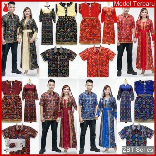 ZBT07809 Kebaya Batik Couple Keluarga Kd Prodo BMGShop