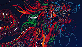 Ilustración de dragón
