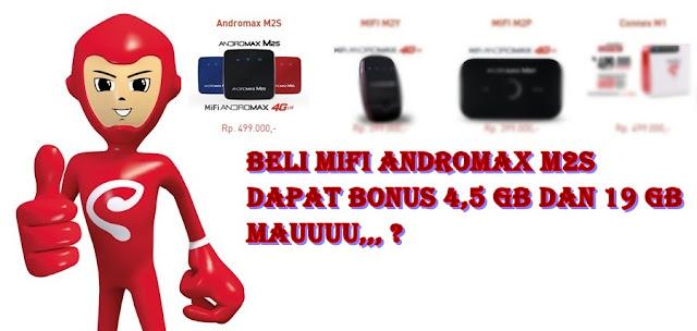 Baru !!! Modem Mifi Andromax M2S 4G Smartfren Terbaru Lebih Mahal Sedikit Ketimbang Seri Sebelumnya