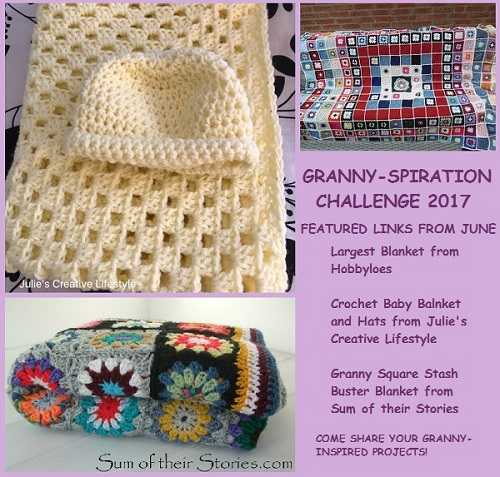 linkup, link party, features, GrannySpiration Challenge 2017