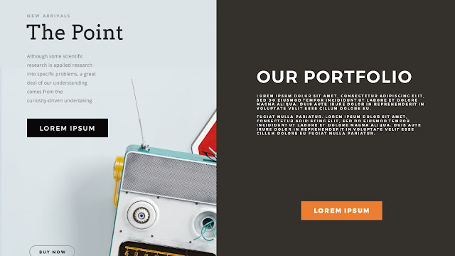 Free PowerPoint Templates with Professional Latest Projects Presentation Slide 2