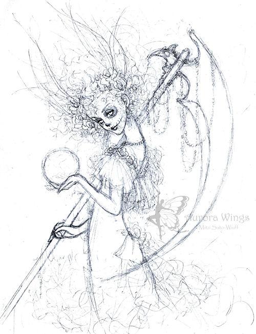 Santa Muerte - concept sketch