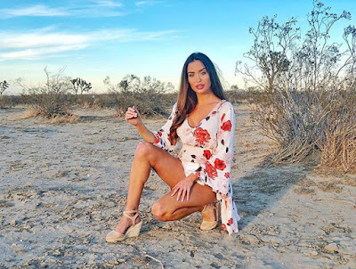 Dubai modlen  Australian model lucinda nicholas
