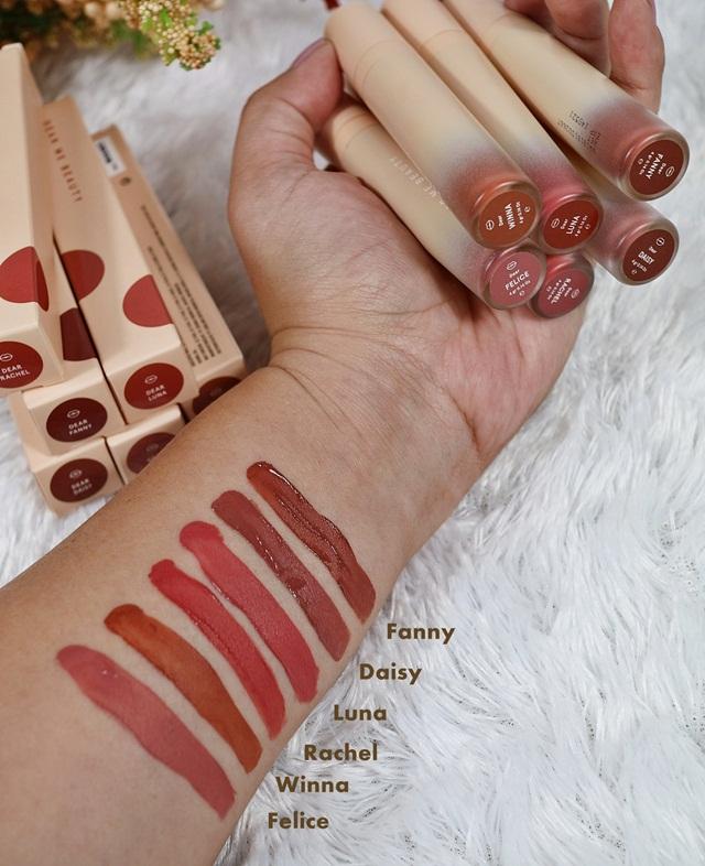 Swatch Lipstik Dear Me