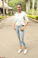 Rakul Preet Singh in Jeans and White Shirt At Jaya Janaki Nayaka le Logo Launch ~  Exclusive 041.JPG
