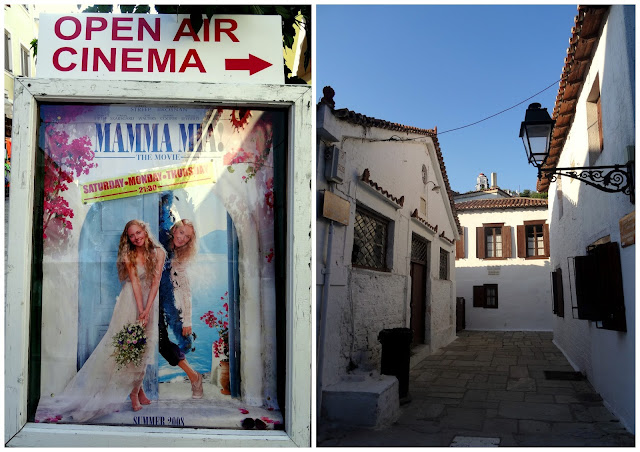 Mamma Mia Film and Papadiamanti's House (well renowned Greek author from this island)