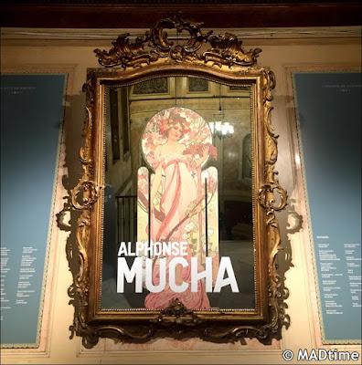 Alphonse Mucha en el Palacio de Gaviria