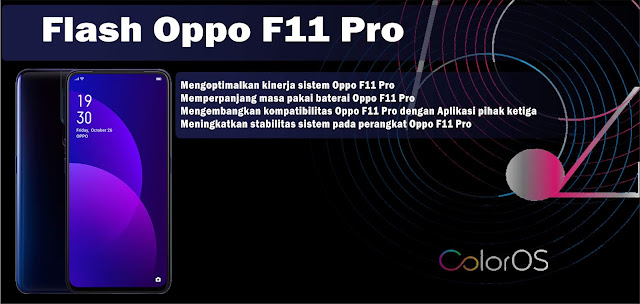 Cara Mudah Flash Stock ROM Oppo F11 Pro Hang Logo