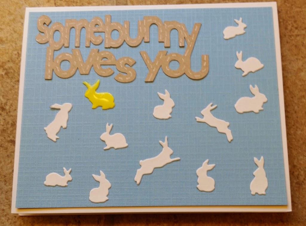 piece of cake handmade cards somebunny loves you. Black Bedroom Furniture Sets. Home Design Ideas