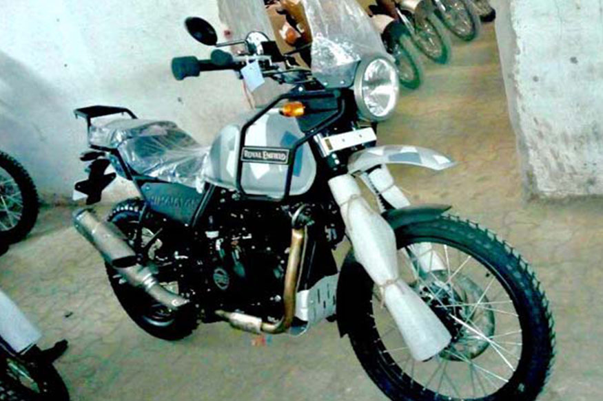 Royal Enfield Himalayan has been spotted in a camouflage paint