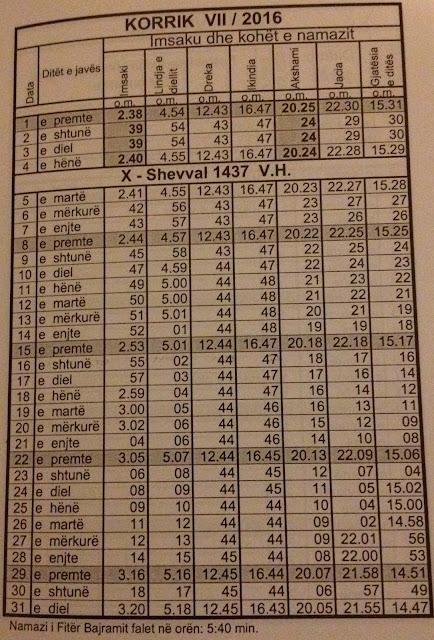 "Results For ""Koha E Namazit Ne Gjermani 2016"" – Calendar 2015"