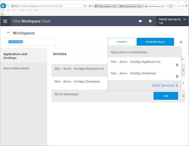 Patrick van den Born - Blog: How to: Citrix Workspace Cloud