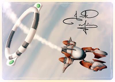 D'Artagnan Racing Aircraft (from Keithan Quintero and the Sky Phantoms)