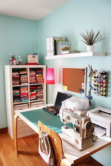 10 Sewing Corners For Inspiration 8