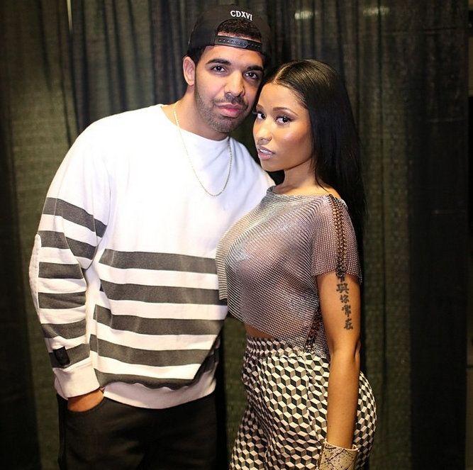 It Looks Like The Meek Mill Vs Drake Beef Is Dead After Meek Received A Message With A Short Video Clip Of Drake Nicki Minaj Getting It In