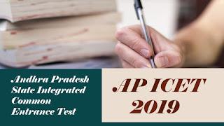 AP ICET Notification 2019, ICET 2019