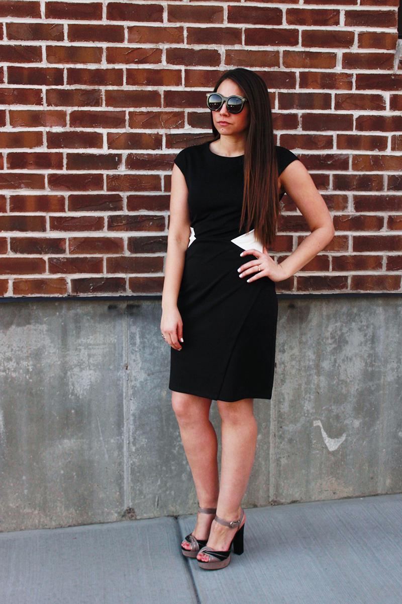 maggy london dresses, utah fashion blog, sheath dress