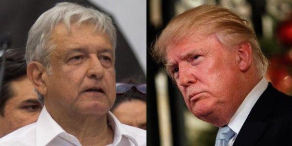 López Obrador propone proyecto de migración a Trump