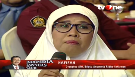 Mengejutkan! Ibunda Briptu Ridho Korban Bom Kp Melayu: Dia Ga Bilang Tugas di Situ, Dia Kan di Polda