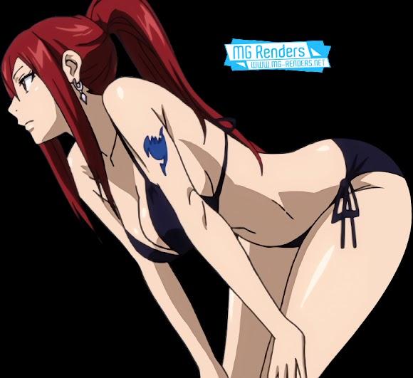 Fairy Tail - Erza Scarlet Render 45