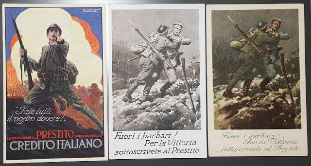 Date oro alla patria per la vittoria prestito nazionale al 5 % ww1 prima guerra mondiale 1915 1916 1917 1918