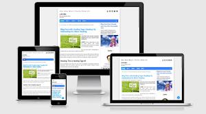Template Evo Magz Redesign Simpel, Clean, Fast Loading dan Keren