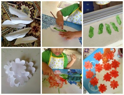 Diwali Decorations DIY For Kids How To Make A Paper Flower Garland