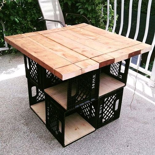 Swell Dishfunctional Designs Milk Crate Magic Neat Things You Onthecornerstone Fun Painted Chair Ideas Images Onthecornerstoneorg