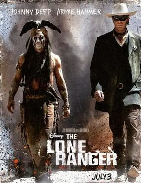 Poster Of The Lone Ranger (2013) In Hindi English Dual Audio 300MB Compressed Small Size Pc Movie Free Download Only At worldfree4u.com