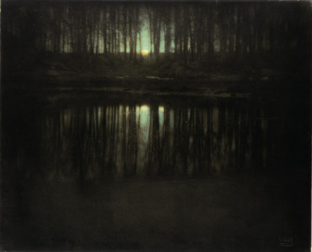 6 Gambar Termahal Dunia-Edward Steichen, The Pond-Moonligh (1904)