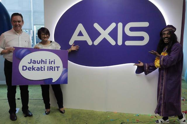 Perjalan Axis Sebagai Provider Terbaik