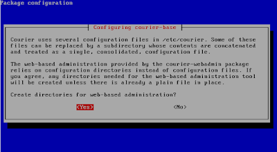 Install courier-imap