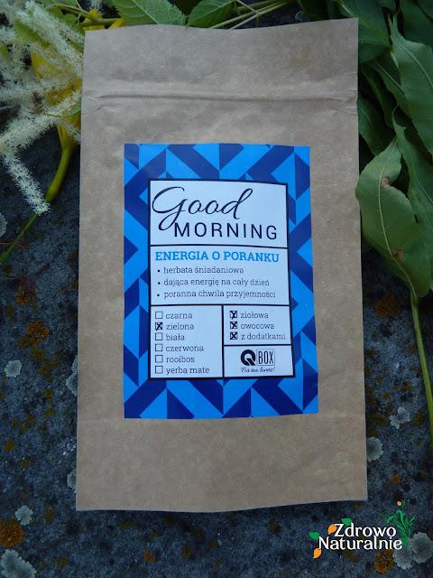 QBOX - Letni poranek - herbata zielona