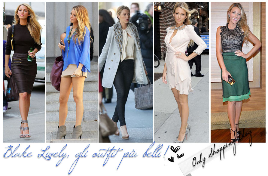 9e95261e5d50 Only Shopping Blog - Fashion Blogger  Blake Lively