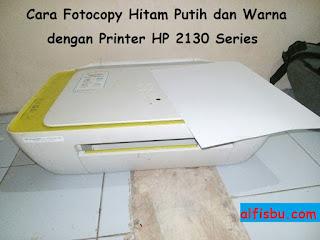 alfisbu fotocopy dengan printer hp 2130