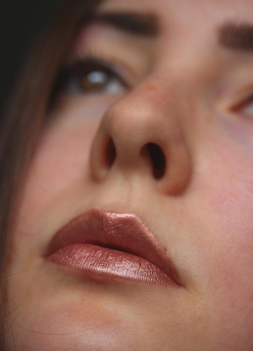 essence metal shock lipstick iron maiden getragen