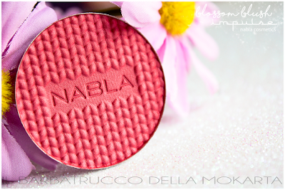 Impulse BLOSSOM BLUSH  SHADE & GLOW Nabla Cosmetics