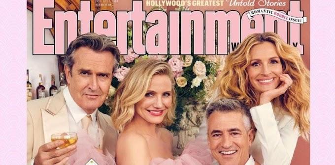 """Julia Roberts se reencuentra con sus amistades de """"La boda de mi mejor amigo"""""""