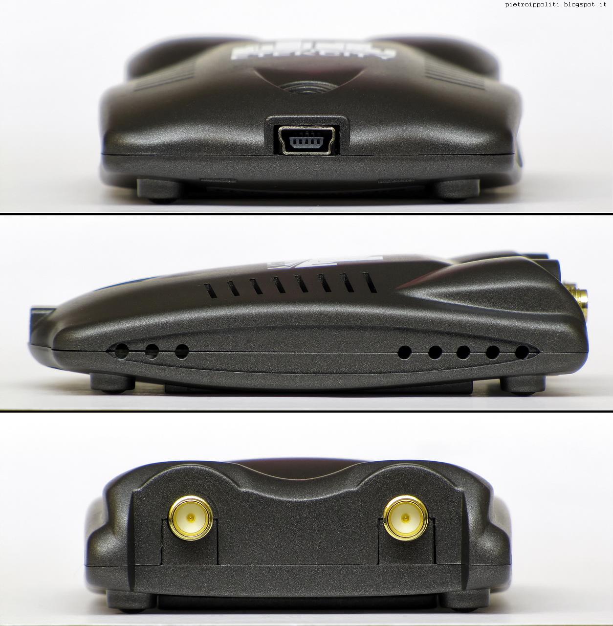 Etekcity Dual Antenna WiFi N300 USB Adapter, viste laterali