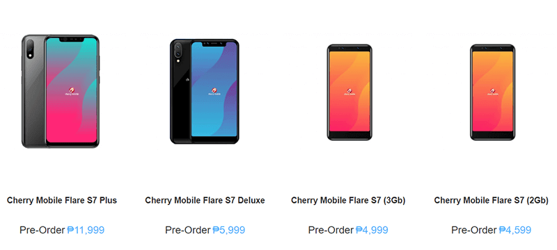 Cherry Mobile Flare S7 series now available for pre-order at Argomall!