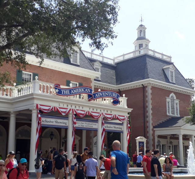 USA Pavilion at EPCOT