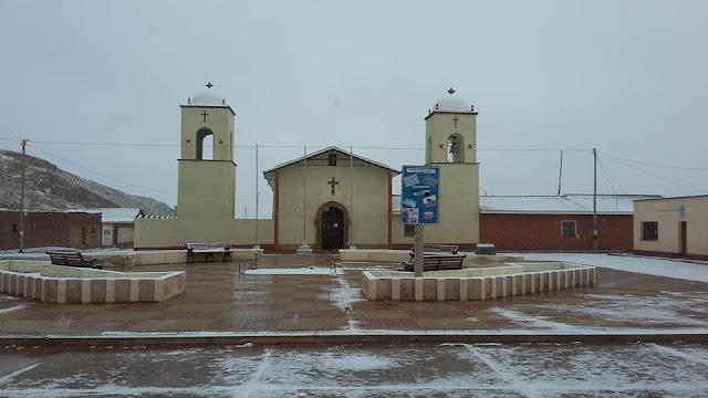 Meine neu renovierte Pfarrkirche von San Pablo de Lipez Bolivien