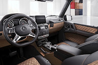 Mercedes-AMG G-Class Exclusive Edition (2017) Interior