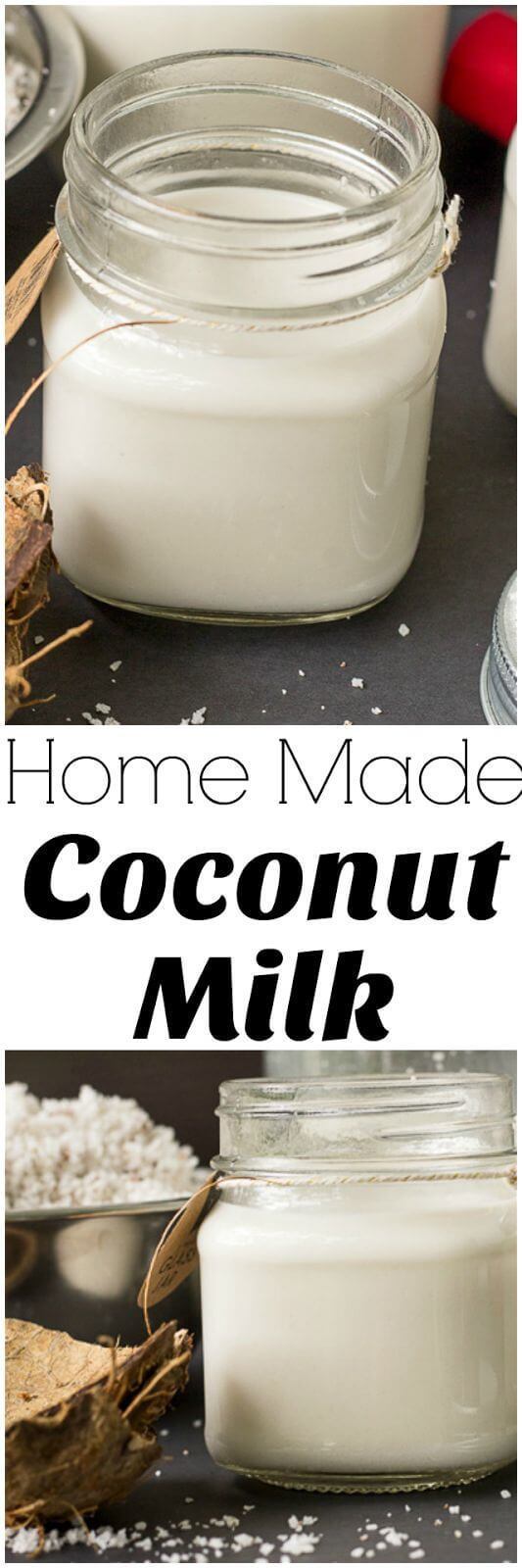 How to make coconut Milk at home