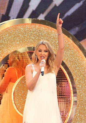 """Pop Queen Kylie Minogue Served BBC's """"Strictly Come Dancing 2019""""  With A Rousing Razzle-Dazzle Performance Of Her Many Timeless Hits!"""