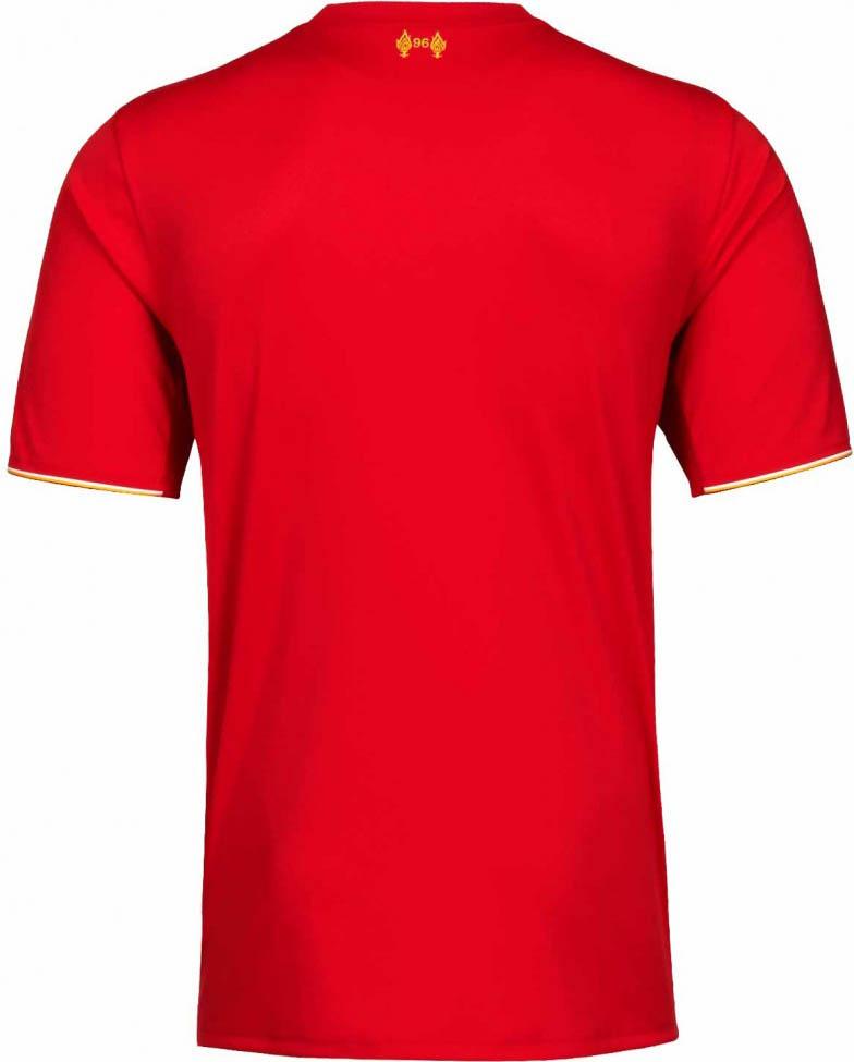 New Liverpool Home Shirt